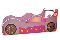 Кровать машина для девочки Лили Детская кровать машина Лили Серия Forsage