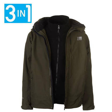 Куртка Karrimor 3 in 1 Jacket Mens, фото 2