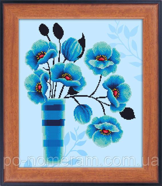 lasko вышивка камнями - набор с цветами