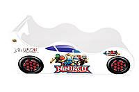 Кровать машина ninjago Детская кровать машина нинзяго Серия Forsage