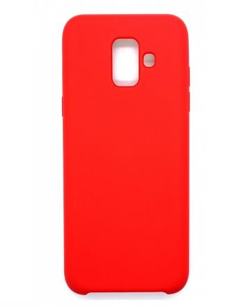 Чехол Intaleo Velvet для Samsung A600 (A6-2018) Red (1283126485022)