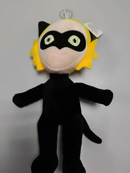 Мягкая игрушка Супер кот черный