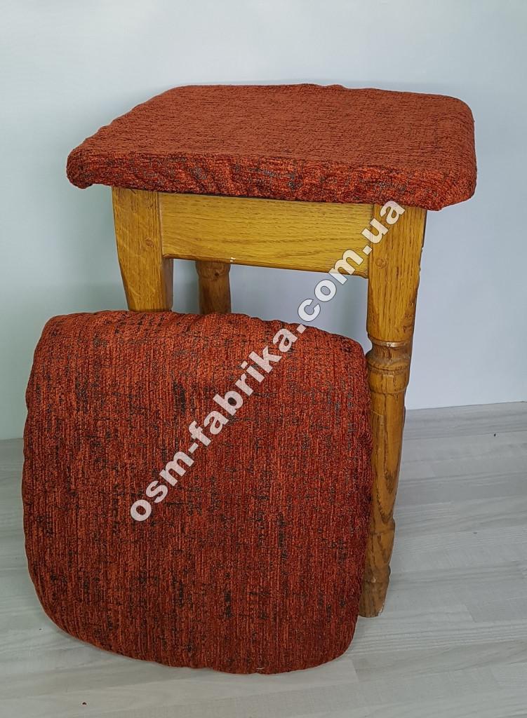 Чехол - подушка на табурет Короед,  комплект 4шт.