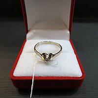 Золотое Кольцо с бриллиантом размер 18,5, фото 1