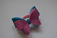 Резиночка для волос для девочек Двойной бантик, фото 1