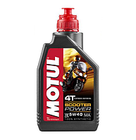 Масло моторное Motul Scooter Power 4T 5W-40 1 Л