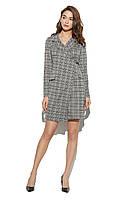 Платье KARREE Миранда S Серый с бордовым (KAR-PL00653) 9badfa3bed13f