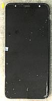 Модуль (дисплей + сенсор) для Samsung J610F Galaxy J6 Plus (2018) / j415  j4 plus 2018  чорний