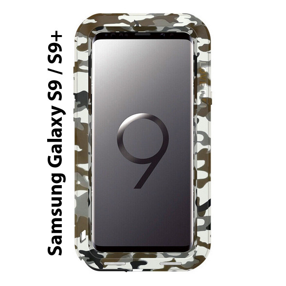 "Чохол Love Mei PoverFul для Samsung Galaxy S9 + 6.2 ""камуфляж"