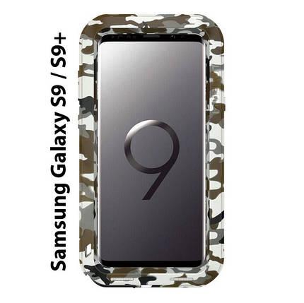 "Чохол Love Mei PoverFul для Samsung Galaxy S9 + 6.2 ""камуфляж, фото 2"