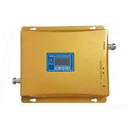 GSM 3G 4G репитер усилитель мобильной связи 1800 МГц 2100 МГц антенна 40см Золотистый (gr_007082)