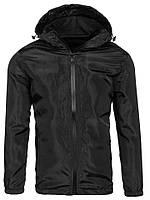Ветровка мужская / куртка весенняя летняя / черная