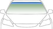 Автомобільне скло вітрове, лобове FORD FIESTA II 3Д+5Д 1995-2002 3552AGNBL