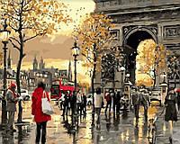 Картина по номерам Осенняя Франция (40 х 50 см, в коробке)