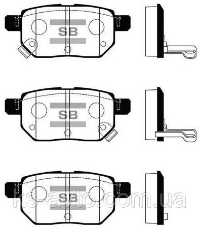 Тормозные колодки HI-Q SP 2094
