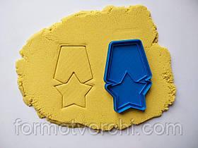 """3D формочки-вырубки для пряников """"Погон 1"""""""