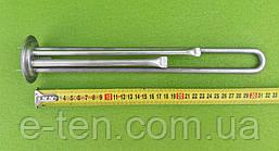 Тэн НЕРЖАВЕЙКА для бойлера Thermex 1300W (на фланце Ø63мм) / с 2 трубками под термостаты (под анод М4)  KAWAI