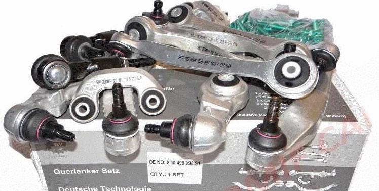 Комплект важелів підвіски Audi A4/A6, VW Passat B5 Superb від SKV