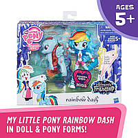 My Little Pony Rainbow Dash Glitter Pony Май литтл пони Рейнбоу деш и блестящая пони