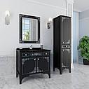 Тумба для ванной комнаты Marsan Jacqueline 900 черная, фото 2