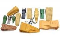 Зубья, коронки, пальцы, адаптера на ковши Caterpillar,  Esco,  Volvo,  UNITOOTH, Komatsu, Hyundai, Doosan