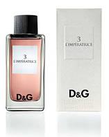 Dolce&Gabbana L'Imperatrice 3, 100 ml Original size женская туалетная парфюмированная вода тестер духи аромат