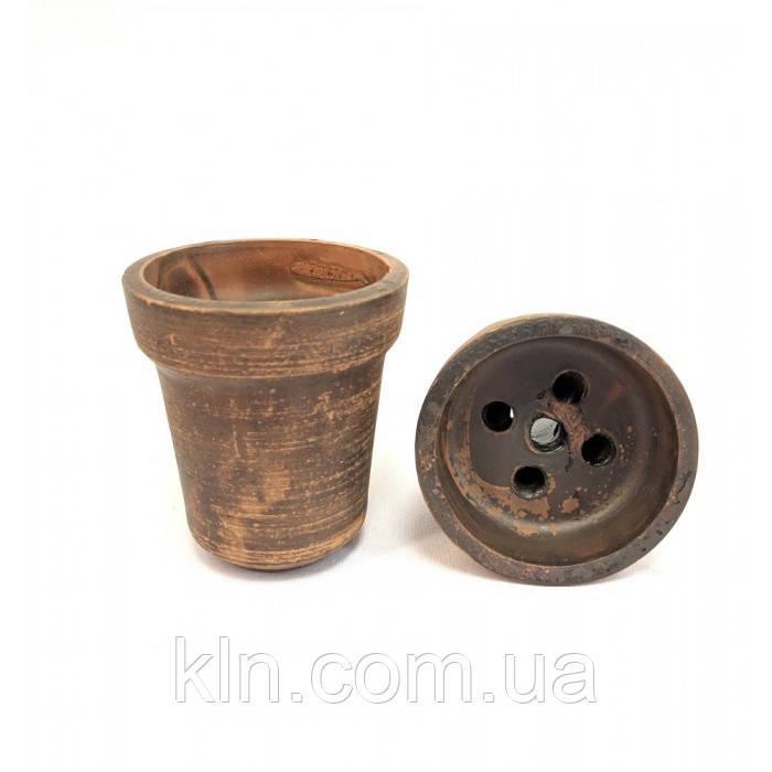 Глиняная чаша solaris для кальяна классика