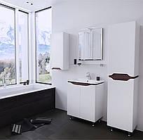 Зеркало Симпли Air в ванную, венге