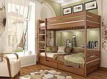 """Двухъярусная кровать """"Дуэт"""" из массива бука 80*190, Эстелла (Украина), фото 6"""
