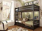 """Двухъярусная кровать """"Дуэт"""" из массива бука 80*190, Эстелла (Украина), фото 7"""