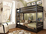 """Двухъярусная кровать """"Дуэт"""" из массива бука 90*200, Эстелла (Украина), фото 7"""