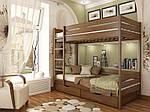 """Двухъярусная кровать """"Дуэт"""" из щита бука 90*200, Эстелла (Украина), фото 4"""
