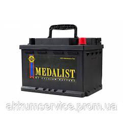 Акумулятор автомобільний Medalist 63AH R+ 630А