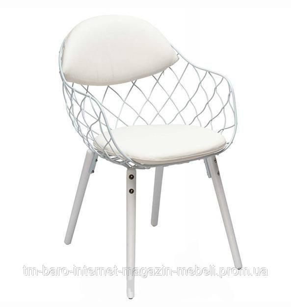 "Кресло ""Вики"" (КЗ белый) белый, Domini"