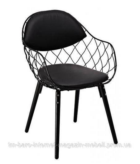 """Кресло """"Вики"""" (КЗ черный) черный, Domini"""