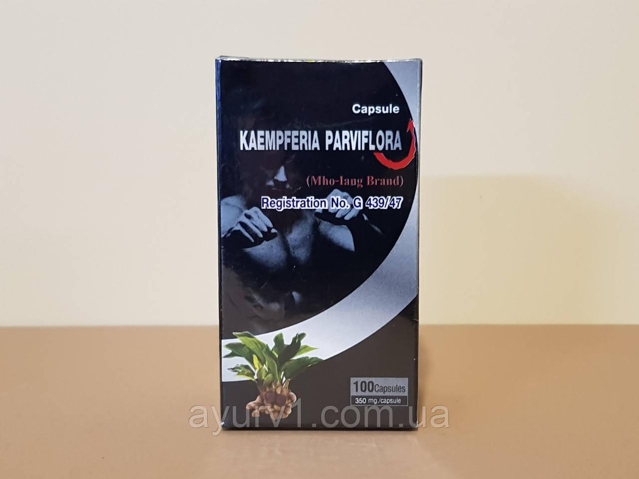 Черный галангал, Kaempferia Parviflora/ 100 кап