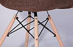 Кресло Salex FB Wood Коричневый, фото 7
