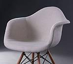 Кресло Salex FB Wood Кремовый, фото 6