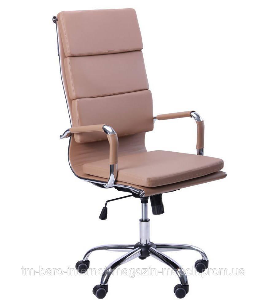 Кресло Slim FX HB (XH-630A) беж, Бесплатная доставка