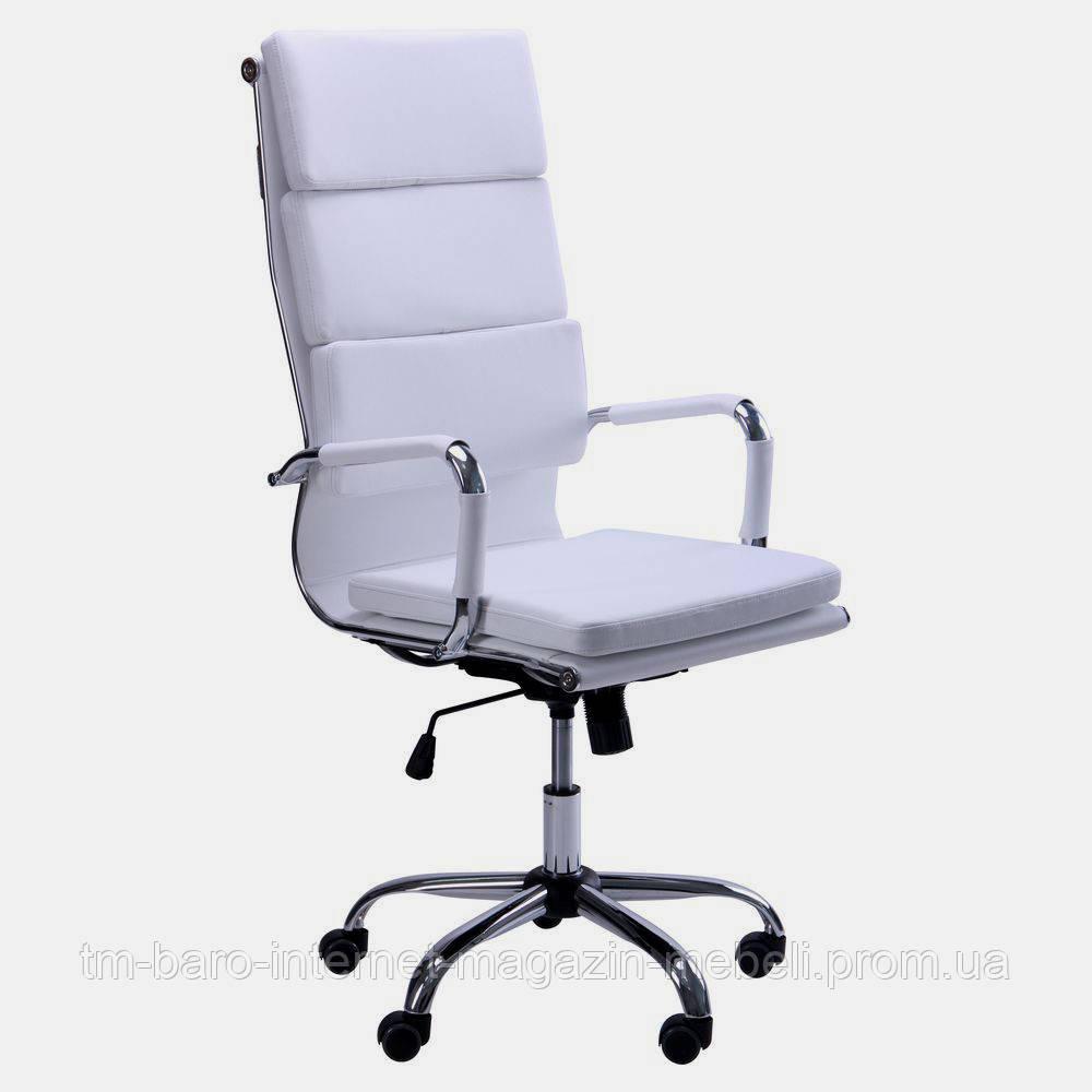 Кресло Slim FX HB (XH-630A) белый, Бесплатная доставка