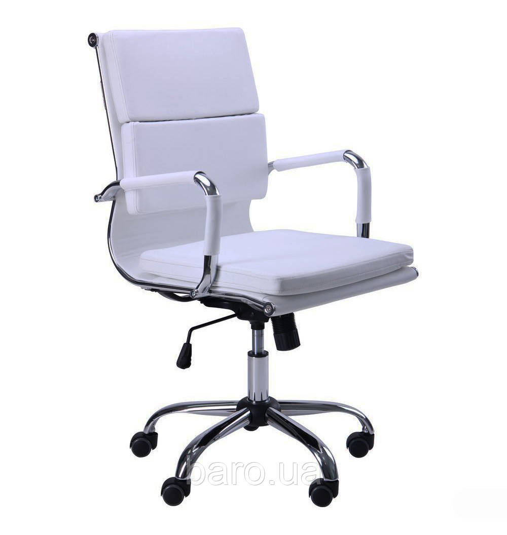 Кресло Slim FX LB (XH-630B) белый, Бесплатная доставка