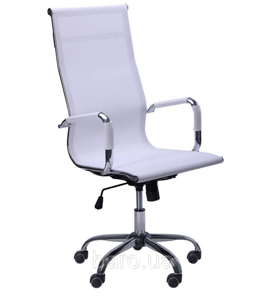 Кресло Slim Net HB (XH-633) белый, Бесплатная доставка