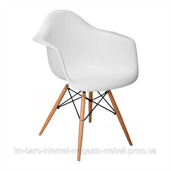"""Кресло """"Прайз"""" (ПЛ белый ольха), Domini (Eames)"""