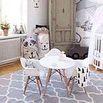 "Кресло ""Прайз"" (ПЛ белый ольха), Domini (Eames), фото 4"