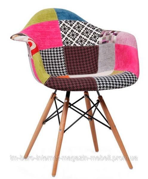 Кресло Прайз (пэчворк), Domini (Eames)