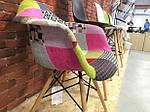 Кресло Прайз (пэчворк), Domini (Eames), фото 3