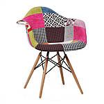 Кресло Прайз (пэчворк), Domini (Eames), фото 5