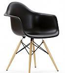 "Кресло ""Прайз"" (ПЛ черный ольха), Domini (Eames), фото 2"