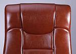 Кресло Ричмонд, кожа коричневая, Бесплатная доставка, фото 6