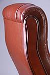 Кресло Ричмонд, кожа коричневая, Бесплатная доставка, фото 7